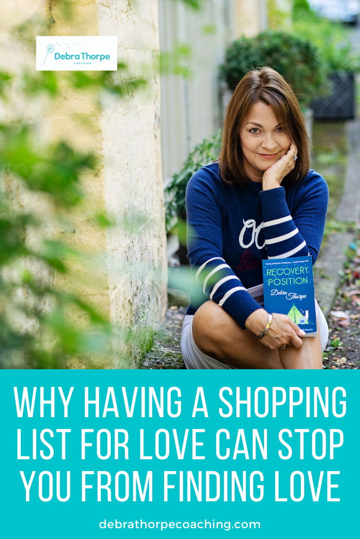 Why Having a Shopping List for Love Can Stop You From Finding Love