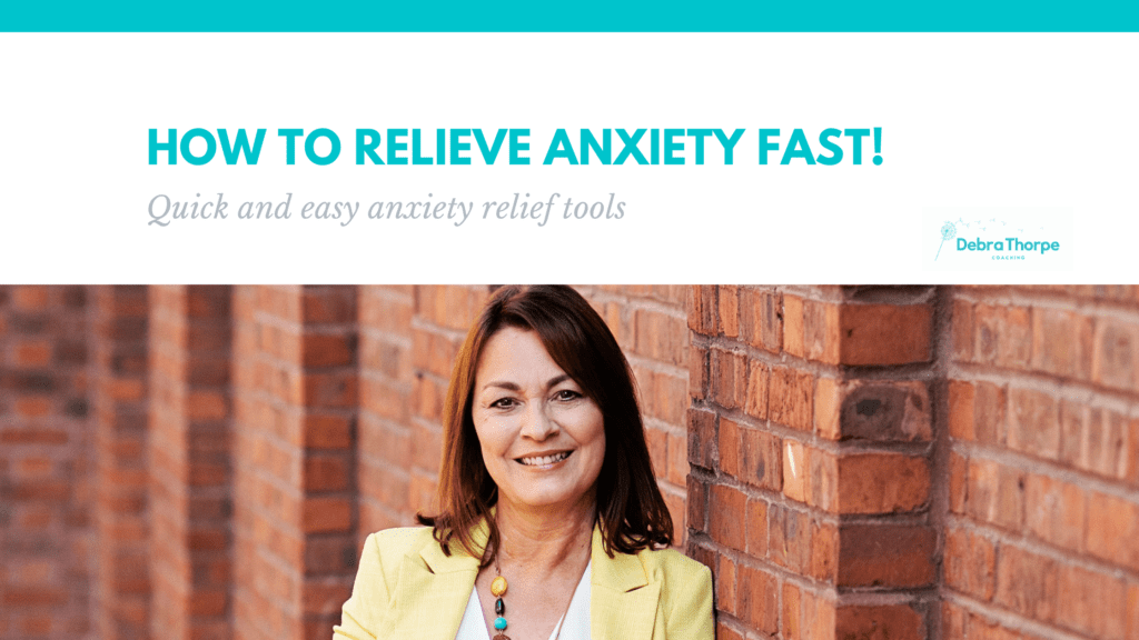 How to relieve anxiety fast! Quick and easy anxiety relief tools