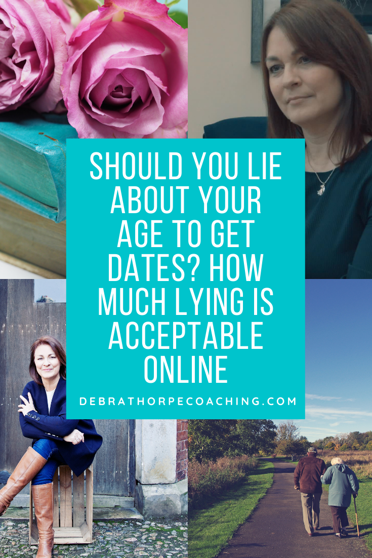 Should You Lie About Your Age to Get Dates ? How Much Lying Is Acceptable Online