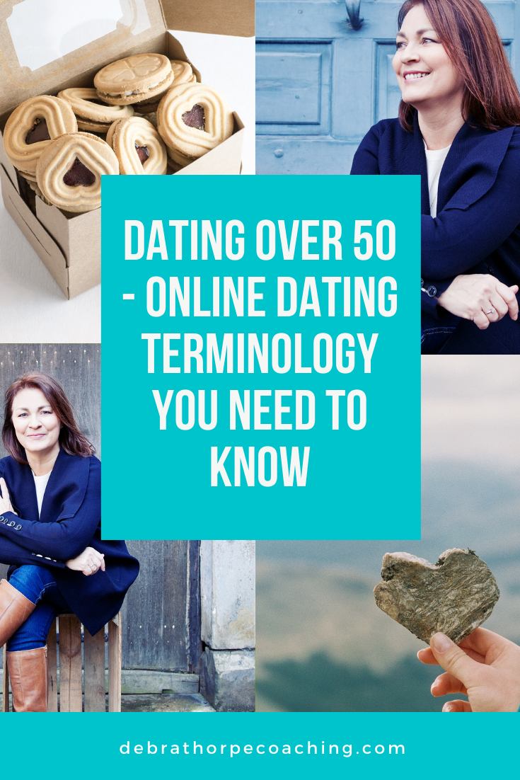 Dating over 50 - online dating terminology you need to know!